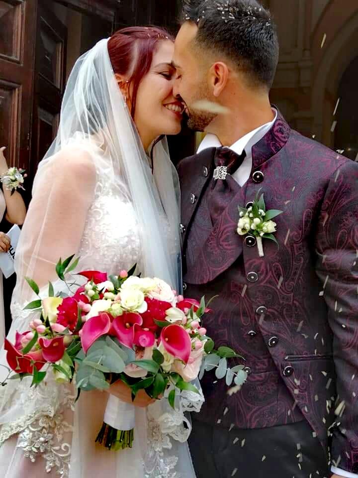Matrimonio di Maria e Giovanni sposi