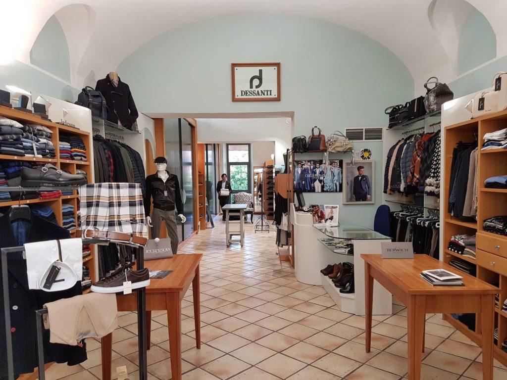 Panoramica negozio