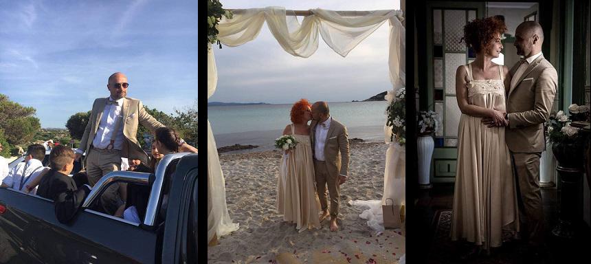 Matrimonio Capo Testa, abbigliamento Dessanti per lo sposo