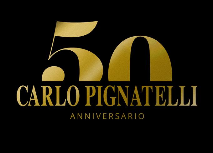 Logo 50 anni pignatelli